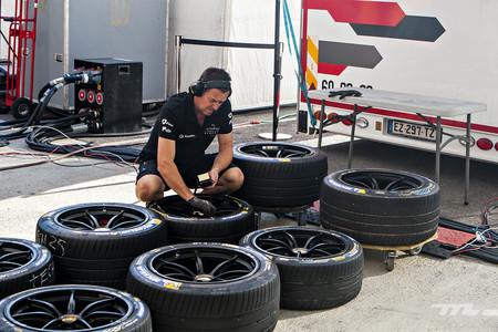 Formula E Tests Michelin