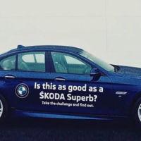 Skoda Superb vs BMW Serie 5, la prueba final de confianza en tu producto llega desde Irlanda