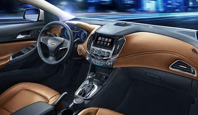 El nuevo Chevrolet Cruze por dentro