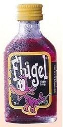 Flügel, la bebida enérgica con vodka roja