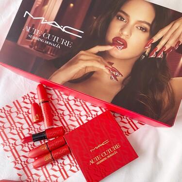 Estos son nuestros favoritos de la colección de maquillaje de Rosalía en colaboración con MAC que son una preciosidad
