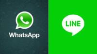 En la guerra de la mensajería instantánea, Whatsapp arrasa en usuarios y LINE en ingresos