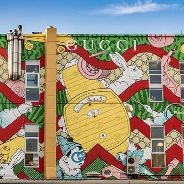 Gucci se inspira en el mundo del skate en su nuevo arte mural y en su nuevo reloj, Gucci Grip