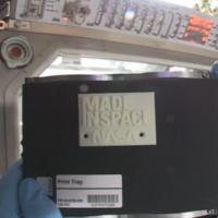La NASA nos enseña el primer objeto impreso en 3D en el espacio