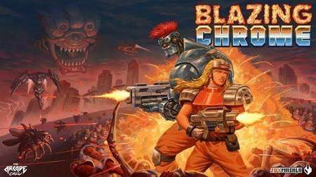 Blazing Chrome y su clara inspiración en Contra con su nuevo y frenético gameplay