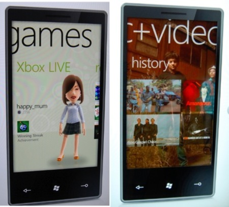 microsoft windows phone 7 games music