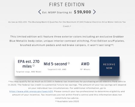 Ford Mach Filtrado First Edition