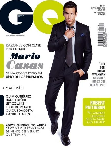 Chulazos de portada: Mario Casas en GQ