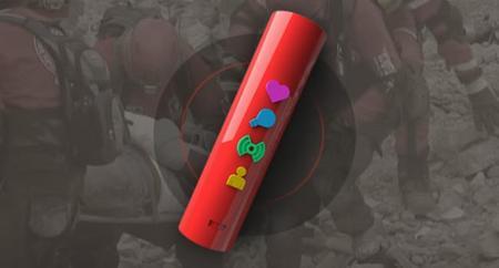 Amuleto Topos, un gadget para garantizar tu supervivencia en caso de desastre natural