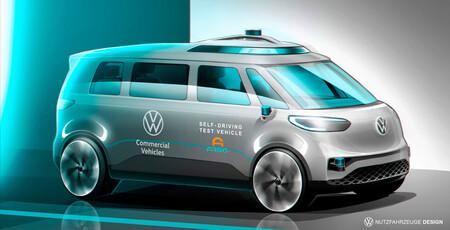 Volkswagen inicia las pruebas de sus vehículos autónomos de nivel 4 en Europa con una versión eléctrica del mítico microbus
