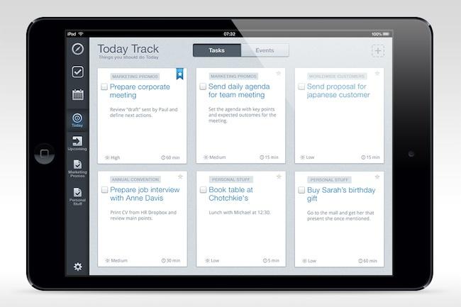 Hightrack - Today, iPad mini