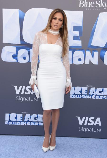 Jennifer Lopez En El Estreno De Ice Age