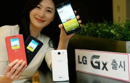 LG GX, una variante del buque insignia de LG pero sólo para corea del sur