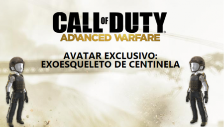 Objeto de avatar gratuito para usuarios de Xbox Live: Exoesqueleto de Call of Duty: Advanced Warfare