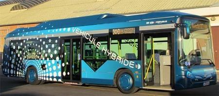 Heuliez Bus entregará 250 autobuses híbridos a París
