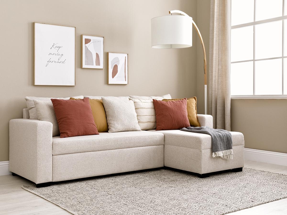 Sofá cama con chaise