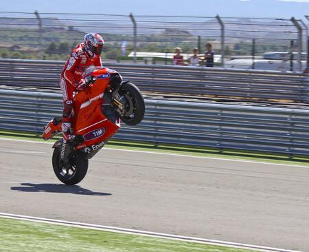 Stoner Aragon Motogp 2010