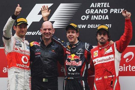 Sebastian Vettel, Grand Chelem en el Gran Premio de India