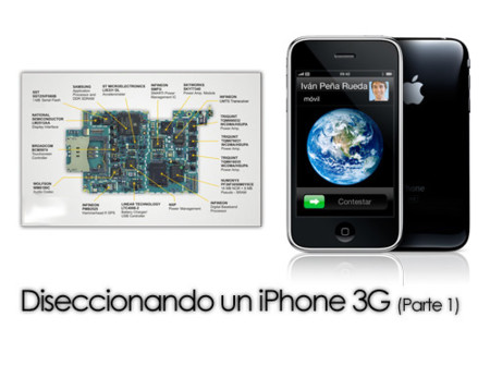 Diseccionando un iPhone 3G (Parte 1)