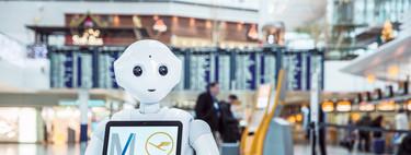 Los robots llegan a los aeropuertos para atender a los viajeros