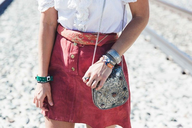 gozando skirt