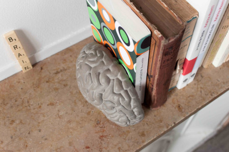 Concrete Brain Bookends Gessato 3