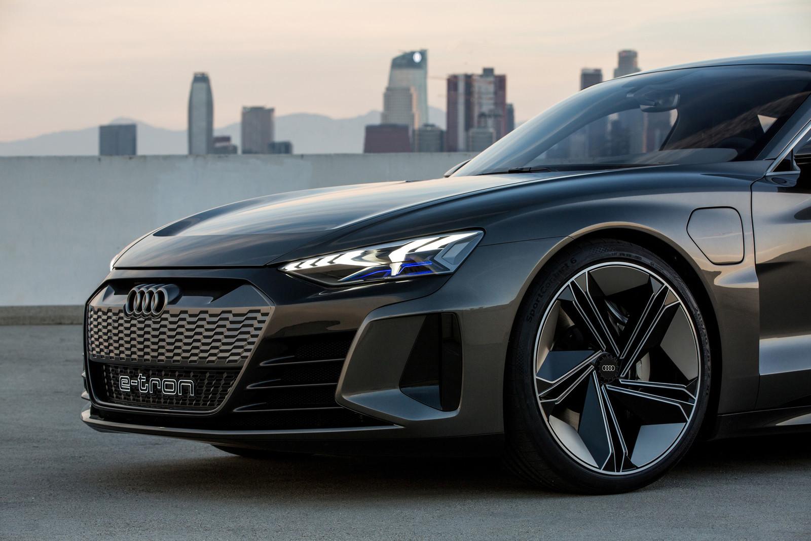 Foto de Audi e-tron GT concept 2018 (55/55)