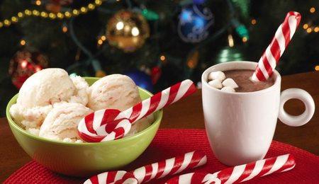 Cucharas de caramelo para una dulce Navidad