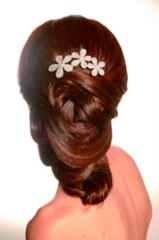 Foto 6 de 7 de la galería tendencia-peinados-novia-2009-monos-bajos en Trendencias