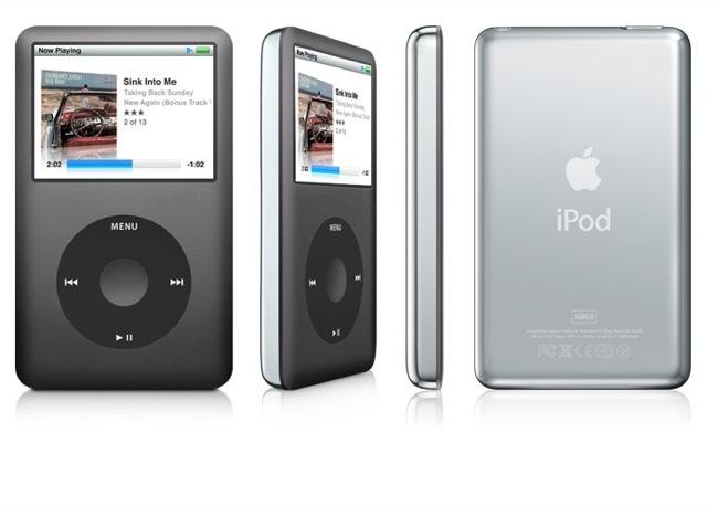 iPod Classic en color negro, mi favorito