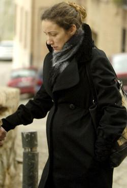Telma Ortiz regresa a Madrid para dar a luz
