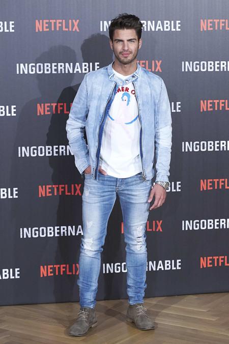 Maxi Iglesis Doble Denim Ingobernable Netflix Premiere