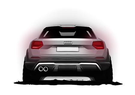 Audi SQ2 boceto trasera
