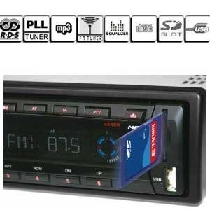 USB y Memory Card en la radio del coche