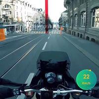 Un casco con realidad aumentada para remarcar peligros en la carretera: Aegis Rider ya tiene su prototipo de HUD para motoristas