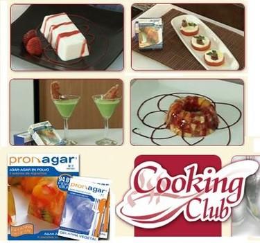 Taller de cocina online con agar agar