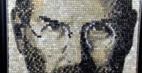 Imagen de la semana: un retrato de Steve Jobs... hecho con teclas de ordenador
