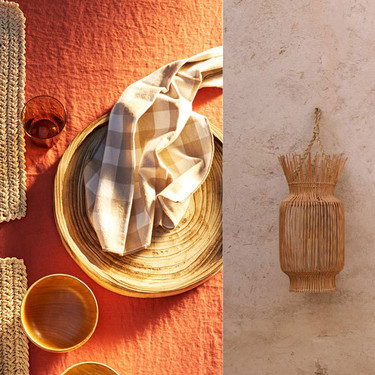 Zara Home y su apuesta por el bambú, tan ecológico y oriental