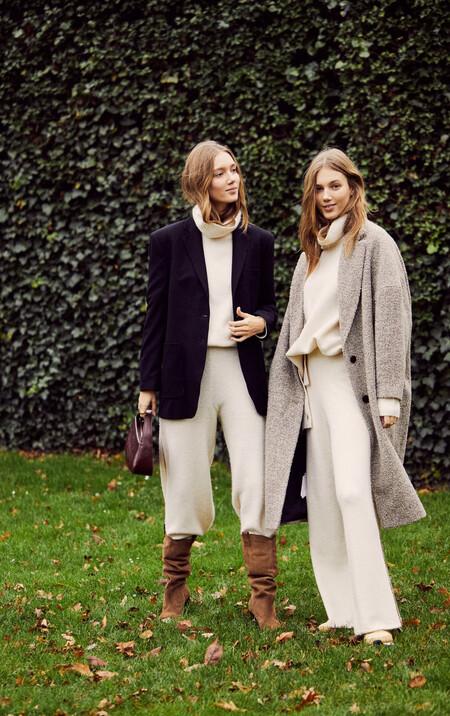 Mango nos presenta a las gemelas más estilosas del momento, las hermanas Moosgaard, con total looks perfectos para este invierno