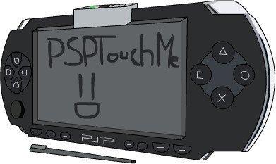 ¿Pantalla táctil para PSP?