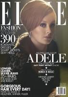 Adele, muy digna y muy señora de su casa con sus pieles en la portada de la revista Elle