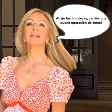 Carmen Lomana, como Ministra de Estética, quiere que Fernando Simón lleve la camisita bien puesta
