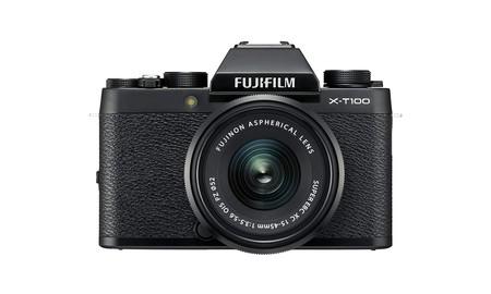 Black Friday 2019: la Fujifilm X-T100 en Amazon hoy a precio mínimo, por 439 euros