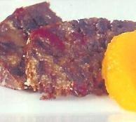 Pan de miel con naranja