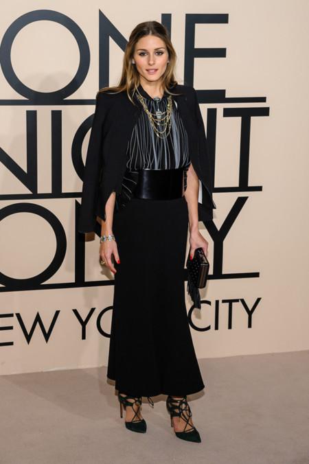 Olivia Palermo en la fiesta One Night Only de Giorgio Armani en Nueva York, Octubre 2013