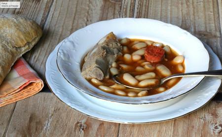Receta de fabas asturianas con chorizo y costillas de cerdo