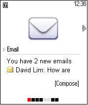 El correo móvil tiene un muy buen futuro