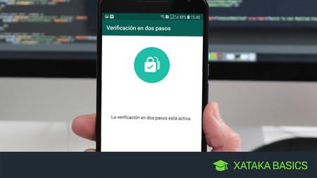 Cómo activar la verificación en dos pasos de WhatsApp