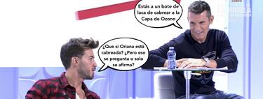 Iván González aclara en 'Mujeres y Hombres y Viceversa' si son ciertos los rumores de su ruptura con Oriana Marzoli