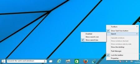 Más señales de Cortana en Windows 10: la última build incluye una caja de búsqueda con un icono de voz